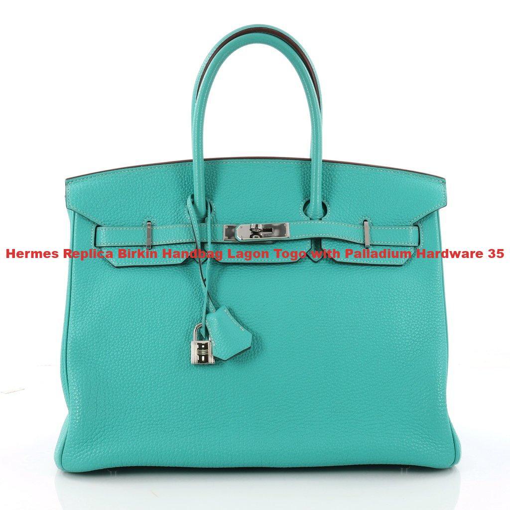 5a417763f14 Hermes Replica Birkin Handbag Lagon Togo with Palladium Hardware 35 ...
